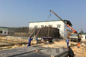 Thi công xây dựng và lắp đặt công nghệ Nhà máy nước Nghi Hoa – Giai đoạn 2